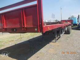 Flat Deck Tri-axles Trailers For Sale