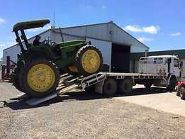 Local and over border tractor transport