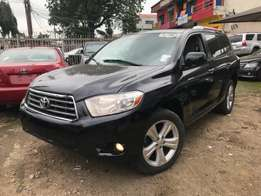 Toyota Highlander Limited 4WD 2008 Dvd