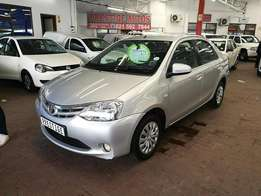2014 Toyota Etios 1.5XS Sedan, ONLY 64000kms, Call Sam or Bibi