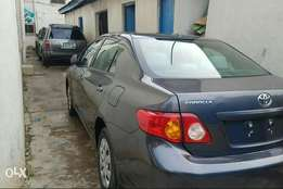 Luxury Tokunbo Toyota corolla 2009 accident free,Lagos cleared