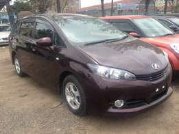 Toyota wish Pay 60% and the rest in 8months with a slight price change