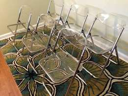 Assorted Chairs And Tables