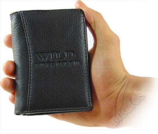 273fee67693d3 Modny elegancki portfel męski skórzany w pudełku Różne Kolory Wild Lublin -  image 6