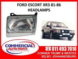 Ford Escort XR3 81-86 Headlamps for sale from R395.00