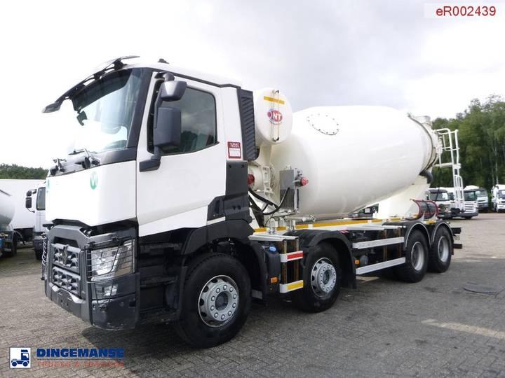 Renault C 430 8x4 Euro 6 NT concrete mixer 12 m3 - 2017