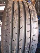 255/55/18 Continental tyres AS NEW