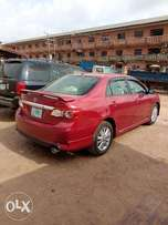 A smooth and clean used 2010 Toyota Corolla sport, fabrics, ac, v4
