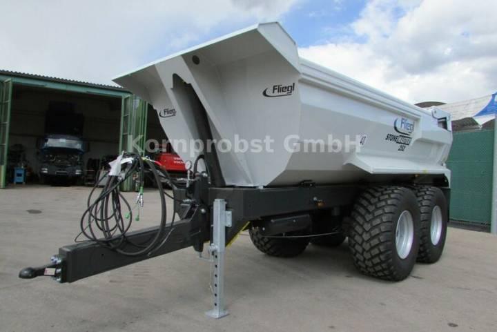 Fliegl Stone-Master 252  - Traktor Mulde - Kipper - 2019