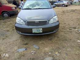 2006 Toyota Corolla Registered