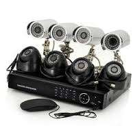 Full set CCTV 8 Cameras,8DVR Card Winpose