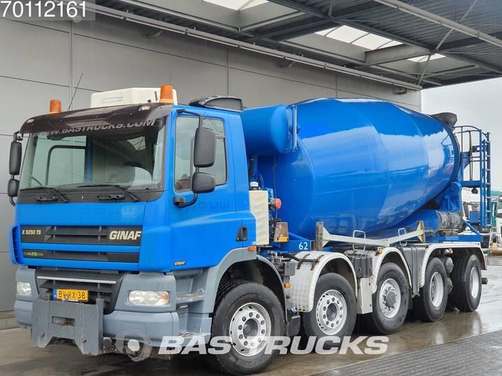 Ginaf X5250 TS 10X4 Tipper + Mixer Euro 5 NL-Truck - 2009
