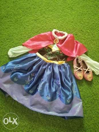 Kid fancy dress with shoes