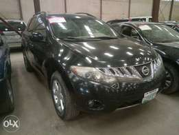 A clean registered nissan murano for sale, 2009 model.