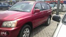 Smooth Driving Tin Can Cleared Toyota Highlander V6 4WD 2003 Edition.