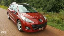 Wine Red, New Import Peugeot 207, 2010, Extremly Clean
