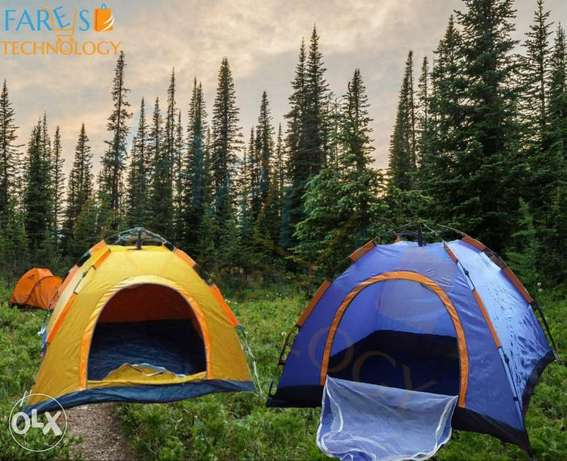 Automatic Outdoor 3 Persons Camping Tent  delivery all over lebanon