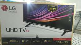 LG uhd 4k smart tv 55inch