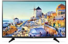 LG 43 Inch UHD 4K Smart LED TV with Built-in Receiver - 43UH617V,New