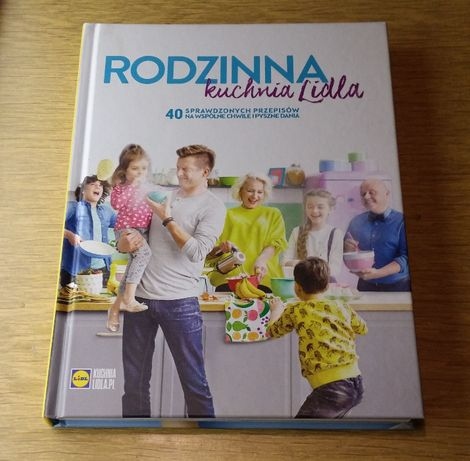 Książka Rodzinna Kuchnia Lidla Zielona Góra Olxpl