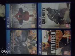 ps4 games for sell or swop