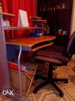 Computer table and desk