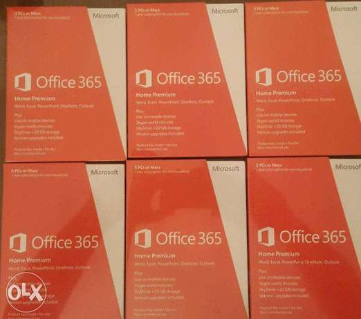 Microsoft Office 365 Home Premium for sale