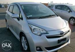 Toyota Ractis/KCP/2011/Silver/Petrol/1500cc/Alloys/TV//DVD/Full Loaded