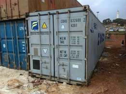 Hi, we sell containers for all purposes, 20ft at ugx7m and 40ft at ug