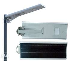 All in One 20 Watt Solar Street/ Garden Light