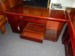 Office Desk and Filing Cabinet