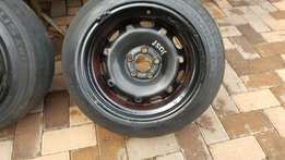 "14"" widened steelies 9j rear 8j front for sale"