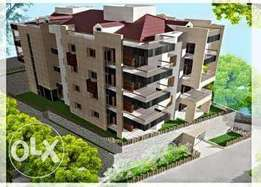 Ballouneh 165m2 - brand new - luxurious - apartment for sale -