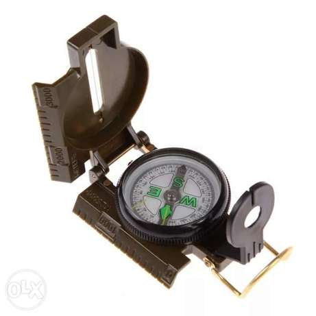 Portable army green compass