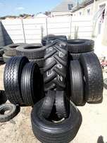 Truck and tractor tyres