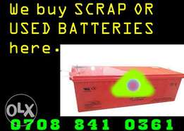 Scrap Battery deal in Lagos