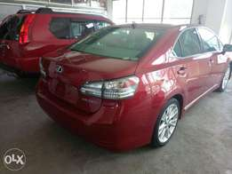 Lexus hs250H. 2010 model KCN number. Loaded with alloy rims , naviga