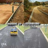 Tar surface drive ways and paving