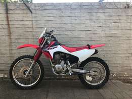 Honda CRF230 in outstanding good condition