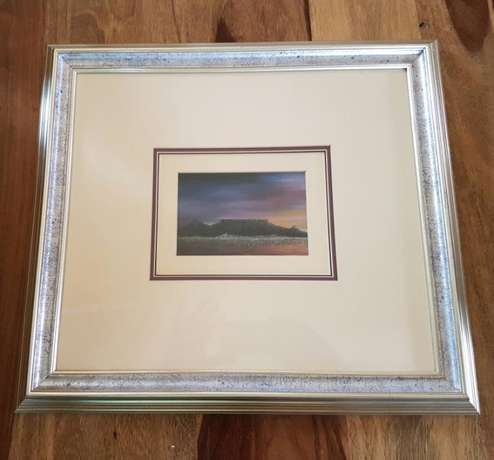 Framed Picture of Table Mountain J 2072 Johannesburg - image 1