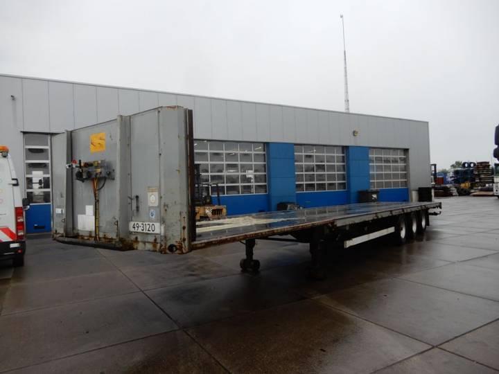 Van Hool Flat trailer / Mega / SAF - 2001