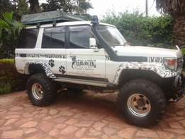Toyota Land Cruiser 70 series, super car Offroader, rhino charge at 3M