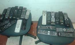 Remote Controls.For Flat Tvs,Amplifiers,DSTV,etc.Contact me for Prices