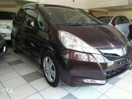 Honda fit wine red with sunroofs new model