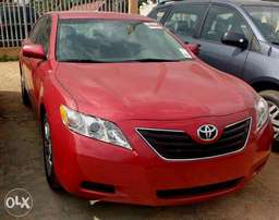 Tokunbo New Toyota Camry 2008 Red