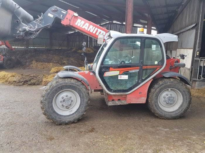 Manitou Mlt 735-120 Lsu Ps Elite - 2015