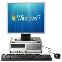 complete desktop hp compaq 17 inch tft keyboard and mouse