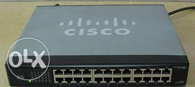 cisco small business sr224 24port 10/100 switch for sale