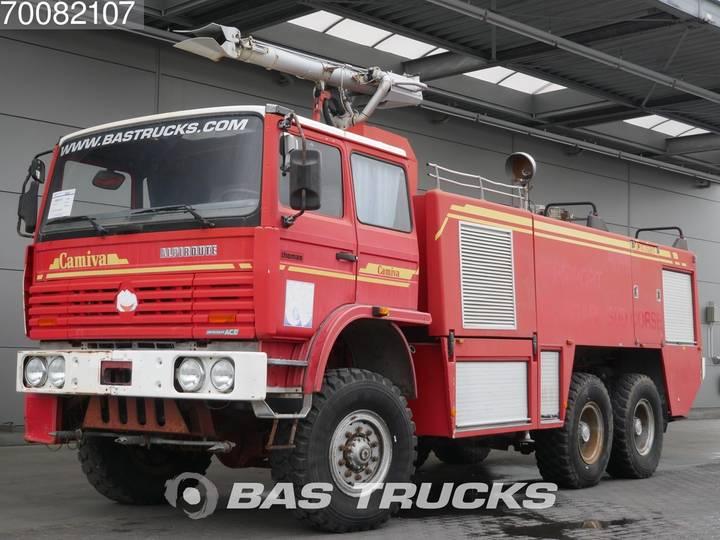 Thomas Camiva Alpiroute 6X6 airport fire truck - 1996