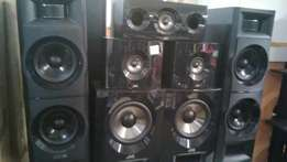Home Theatre JVC Speakers